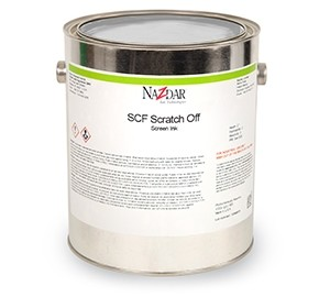 SCF Scratch Off Solvent Screen Inks