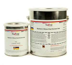System 2 Gloss Vinyl Screen Ink - Standard Colors