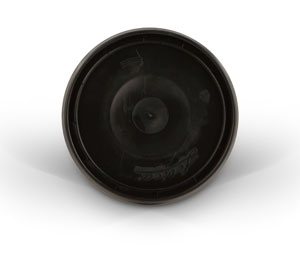 Quart Lid - Black Plastic