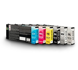 ECO-UV EUV4 Digital Ink - 220ml Cartridges