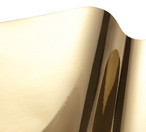 VinylEfx Printable Metalized Vinyl - Durable Smooth Gold
