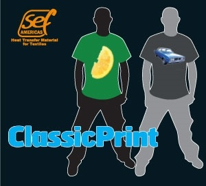 Printable Heat Transfer - ClassicPrint White