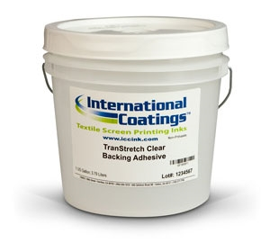 TranStretch Clear Backing Adhesive