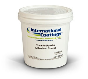 Plastisol Additives - Transfer Powder Adhesive, Coarse