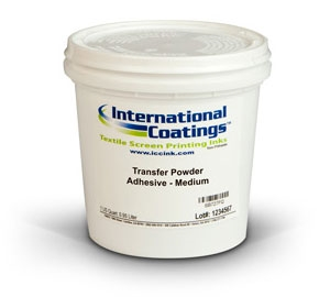 Plastisol Additives - Transfer Powder Adhesive, Medium