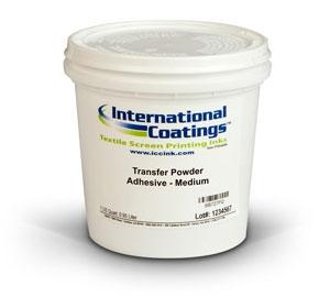 International Coatings Plastisol Additives - Transfer Powder Adhesive,  Medium