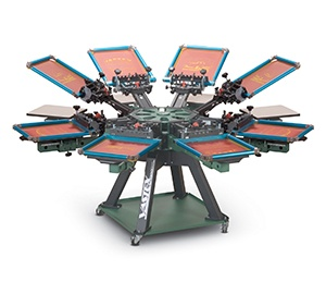 V-2000 HD Premium Manual Screen Printing Press