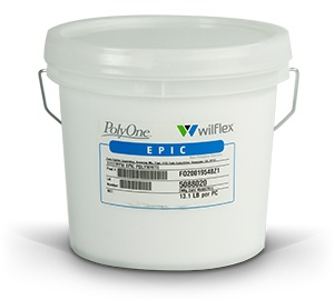 Epic Non-Phthalate Plastisol Inks - Poly White