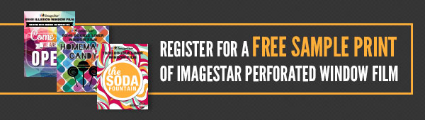 ImageStar Perforated Window Film