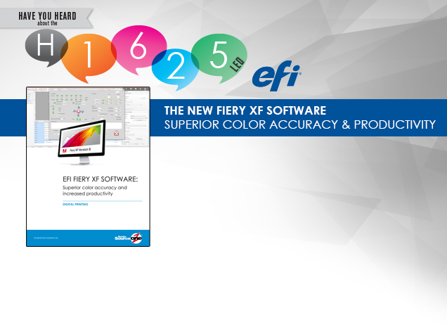 The New Fiery XF Software: Superior Color Accuracy & Productivity