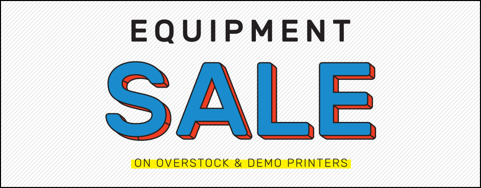 Overstock Textile Equipment Sale