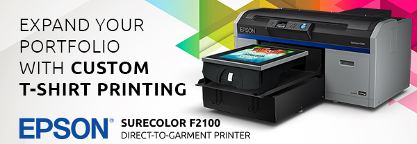 The New Epson SureColor F2100 Direct-to-Garment Printer