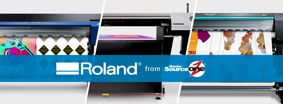 Roland Available at Nazdar SourceOne
